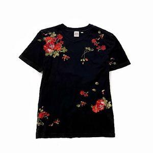 Aritzia Little Moon Embroidered T-Shirt